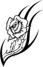 花饰1038,花饰,欧美花纹元素,