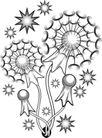 花饰1039,花饰,欧美花纹元素,