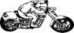 雷霆摩托0063,雷霆摩托,欧美花纹元素,交通工具
