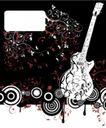 音乐0021,音乐,欧美花纹元素,乐器