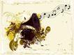 音乐0024,音乐,欧美花纹元素,乐谱 五线谱