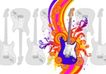 音乐0025,音乐,欧美花纹元素,音乐元素