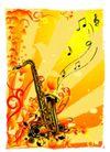 音乐0045,音乐,欧美花纹元素,
