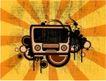 音乐0054,音乐,欧美花纹元素,数字产品