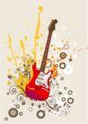 音乐0055,音乐,欧美花纹元素,中式乐器