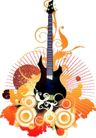 音乐0065,音乐,欧美花纹元素,物件 图案