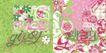 儿童时装纹饰0053,儿童时装纹饰,花纹图案,花草