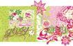 儿童时装纹饰0079,儿童时装纹饰,花纹图案,春季花卉