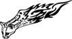 动物火焰0160,动物火焰,花纹图案,