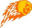 动物火焰0165,动物火焰,花纹图案,