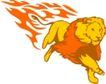 动物火焰0173,动物火焰,花纹图案,