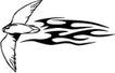 动物火焰0190,动物火焰,花纹图案,