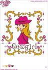 宝贝公主图案0143,宝贝公主图案,花纹图案,