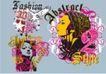 流行动感纹饰0091,流行动感纹饰,花纹图案,
