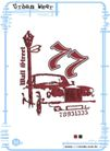男性流行图案0025,男性流行图案,花纹图案,车辆 路牌