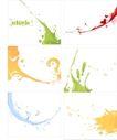 线条花纹0065,线条花纹,花纹图案,彩绘