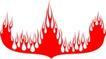 经典的火焰纹饰0041,经典的火焰纹饰,花纹图案,