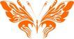 蝴蝶纹饰0001,蝴蝶纹饰,花纹图案,翅膀