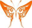 蝴蝶纹饰0002,蝴蝶纹饰,花纹图案,彩蝶
