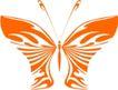 蝴蝶纹饰0004,蝴蝶纹饰,花纹图案,昆虫