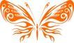 蝴蝶纹饰0005,蝴蝶纹饰,花纹图案,翅膀