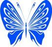 蝴蝶纹饰0006,蝴蝶纹饰,花纹图案,蓝颜色