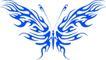 蝴蝶纹饰0009,蝴蝶纹饰,花纹图案,图纹