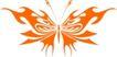 蝴蝶纹饰0014,蝴蝶纹饰,花纹图案,动物图案