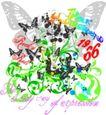 音乐摇滚元素0033,音乐摇滚元素,花纹图案,