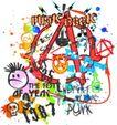 音乐摇滚元素0036,音乐摇滚元素,花纹图案,