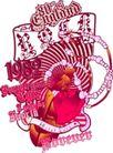 音乐摇滚元素0045,音乐摇滚元素,花纹图案,