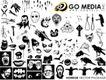 骷髅头0002,骷髅头,花纹图案,头骨 动物 鸟类