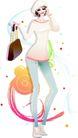 花纹女性0032,花纹女性,花纹背景,