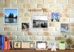 创意设计专辑030017,创意设计专辑03,创意设计,砖墙 日历 照片