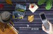 创意设计专辑030023,创意设计专辑03,创意设计,拿起手机 帽子
