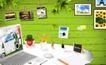 创意设计专辑030042,创意设计专辑03,创意设计,绿色墙壁