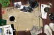 创意设计专辑030060,创意设计专辑03,创意设计,桌面地图 胶鞋 世界地理