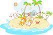 卡通动物0019,卡通动物,卡通,小岛