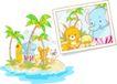 卡通动物0028,卡通动物,卡通,照片留念
