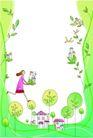 卡通情人节0016,卡通情人节,卡通,绿色世界