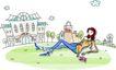 卡通时尚女性0016,卡通时尚女性,卡通,时尚女性 休闲生活