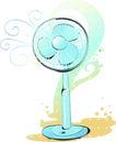 卡通电器物件0026,卡通电器物件,卡通,电风扇