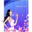 女性花纹0019,女性花纹,女性生活,梦幻花朵