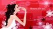 女性花纹0024,女性花纹,女性生活,大红底色