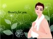 女性花纹0033,女性花纹,女性生活,