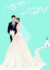 婚礼女性0050,婚礼女性,女性生活,新婚夫妇 婚礼 幸福夫妻