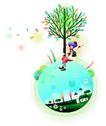 浪漫情人节0024,浪漫情人节,女性生活,一棵绿树