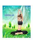 瑜伽女性0002,瑜伽女性,女性生活,