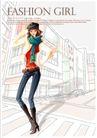 购物女性0017,购物女性,女性生活,围围巾