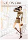 购物女性0027,购物女性,女性生活,坤包 走在街头